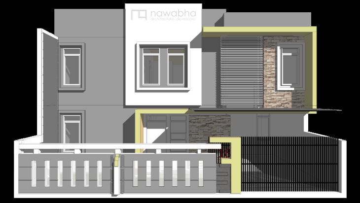 Rumah Pasir Jaya 3D