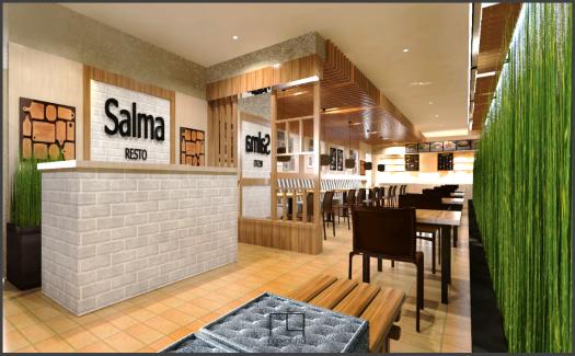 Butik & Cafe Salma Cihampelas Bandung 5