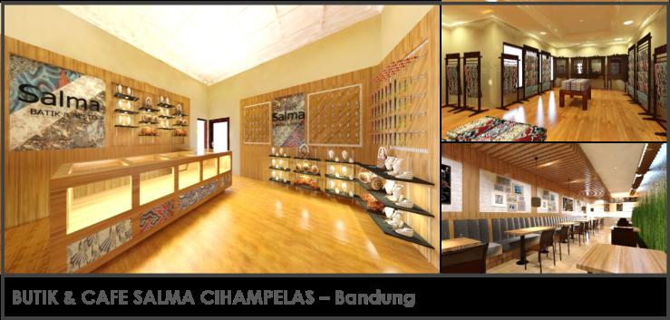 Butik & Cafe Salma Cihampelas Bandung