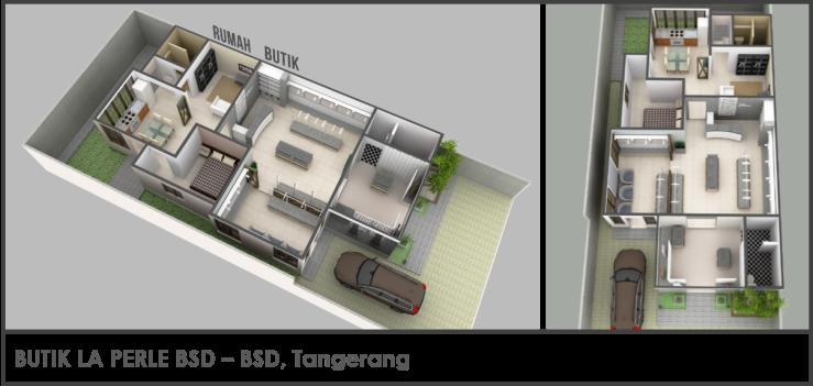 Butik La Perle BSD Tangerang