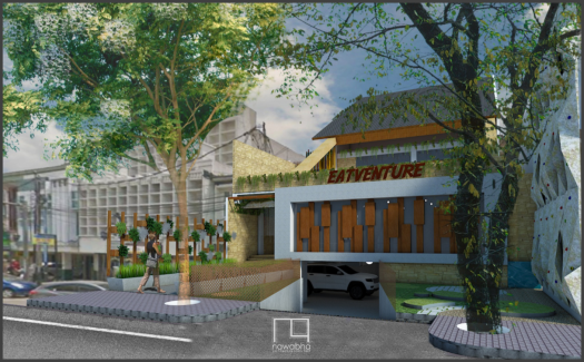 Cafe EatVenture Bandung 1