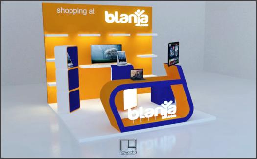 Desain Booth Blanja.com 4