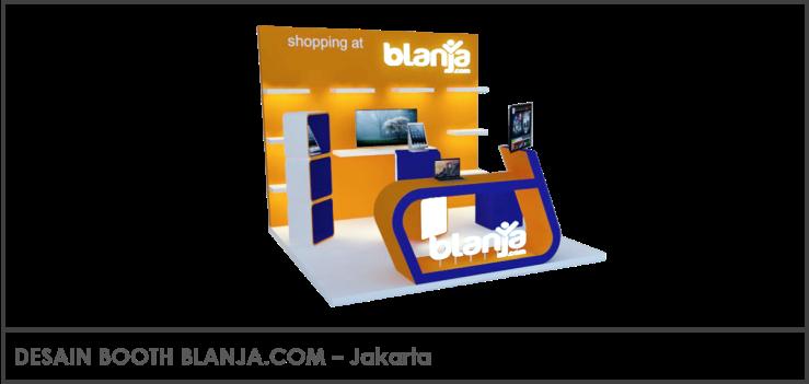 Desain Booth Blanja.com