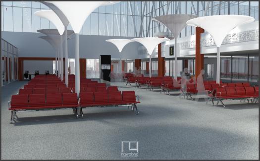 Interior Bandara Supadio Pontianak 2