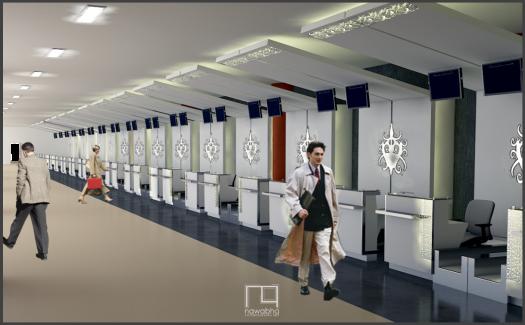 Interior Bandara Supadio Pontianak 3