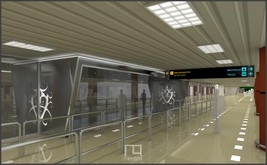 Interior Bandara Supadio Pontianak 5