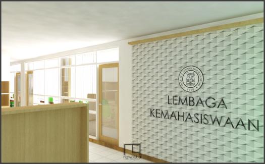 Interior Kantor Lembaga Kemahasiswaan ITB 1
