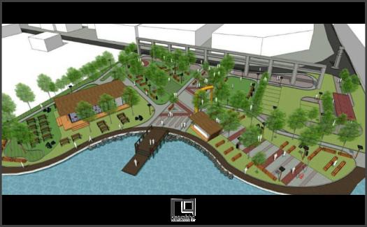 Kawasan Kota Baru Palembang Dermaga 1
