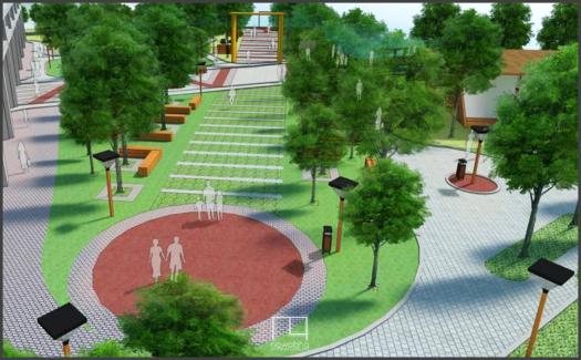 Kawasan Kota Baru Palembang Dermaga 2