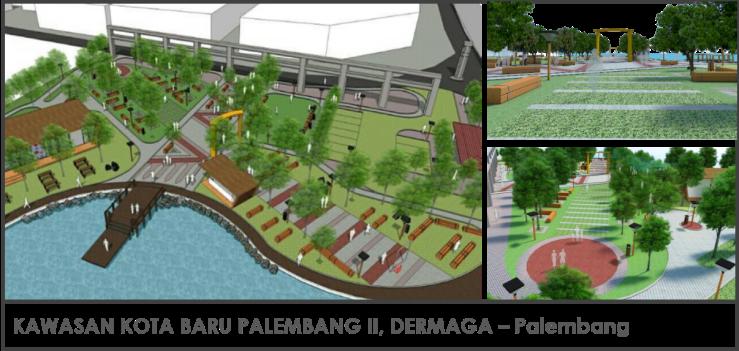 Kawasan Kota Baru Palembang Dermaga