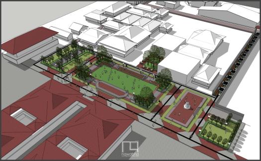 Kawasan Kota Baru Palembang Kota 1
