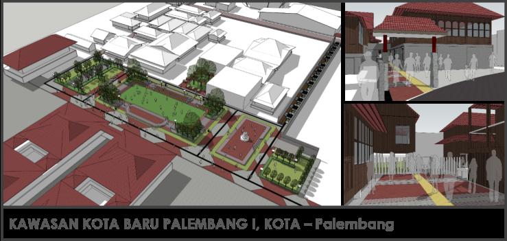 Kawasan Kota Baru Palembang Kota