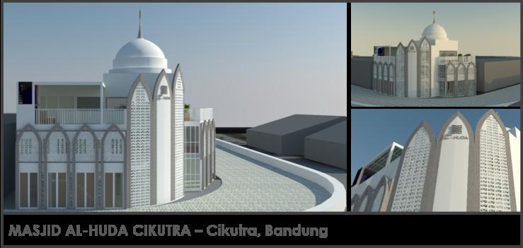 Masjid Al-Huda Cikutra Bandung
