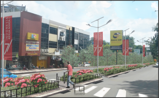 Penataan Pedestrian dan RTH Bekasi 3