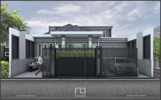 Rumah Art Deco Cimahi 1