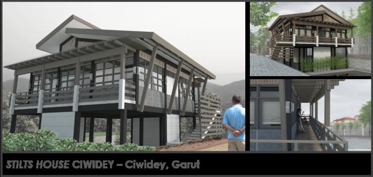Stilts House Ciwidey Garut