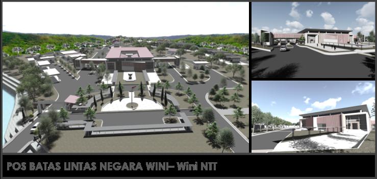 Pos Batas Lintas Negara Wini NTT